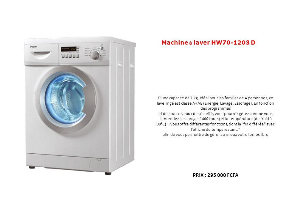 Machine à laver HW70-1203 D PRIX : 295 000 FCFA