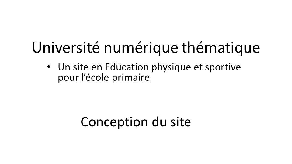 Université numérique thématique