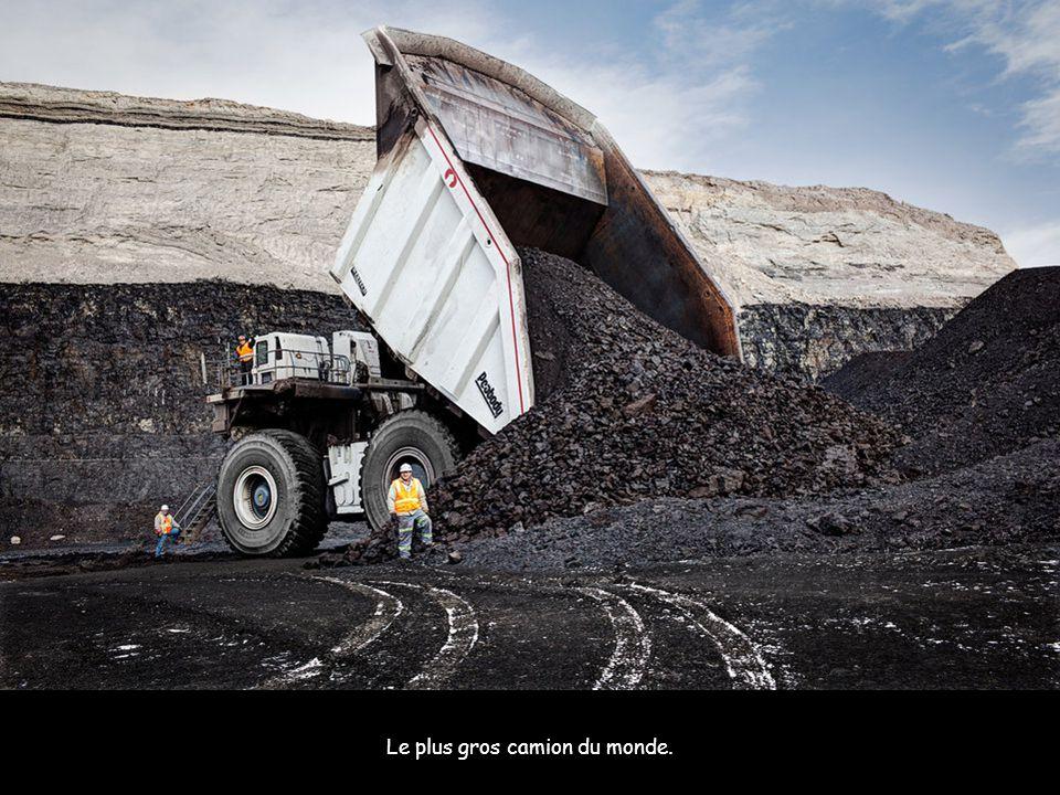 Le plus gros camion du monde.