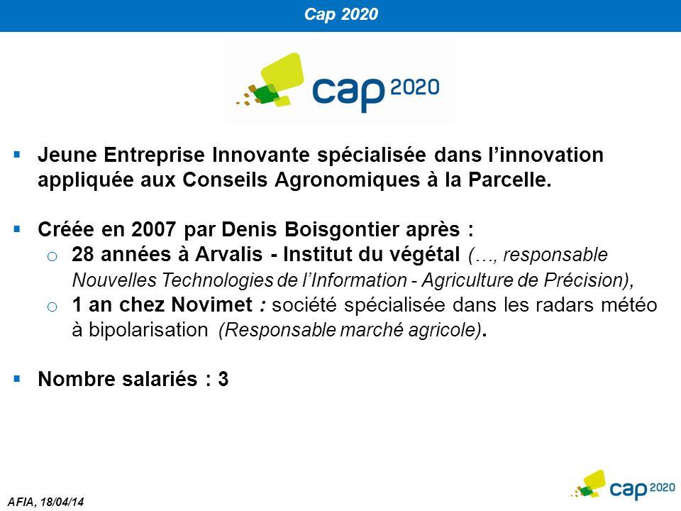 Créée en 2007 par Denis Boisgontier après :