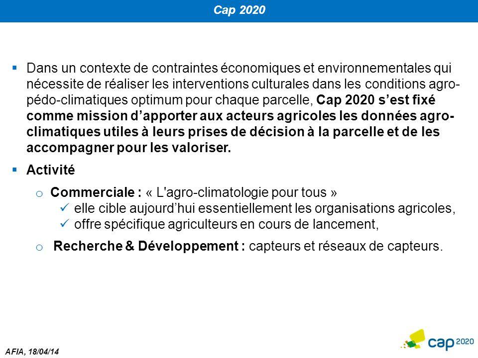 Commerciale : « L agro-climatologie pour tous »
