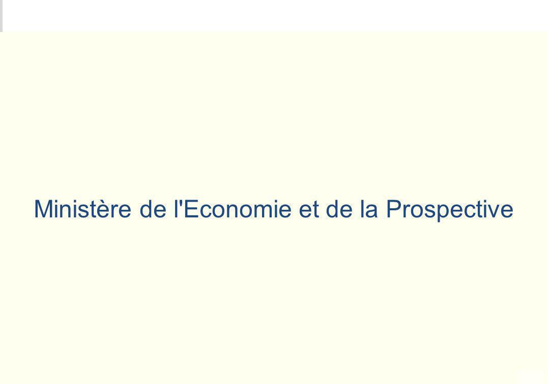 Ministère de l Economie et de la Prospective