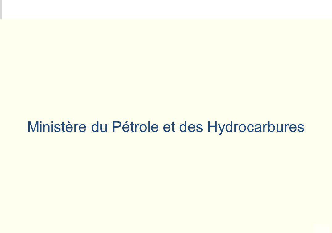 Ministère du Pétrole et des Hydrocarbures