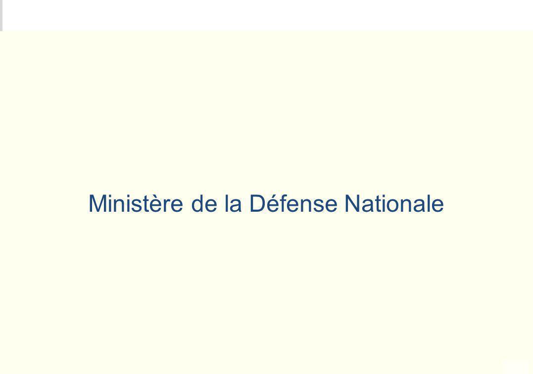 Ministère de la Défense Nationale