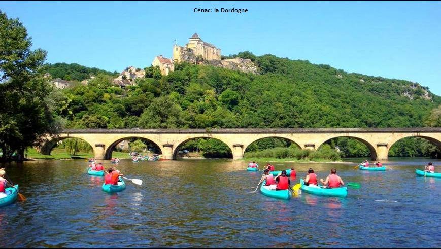 Cénac: la Dordogne