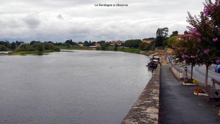 La Dordogne a Libourne