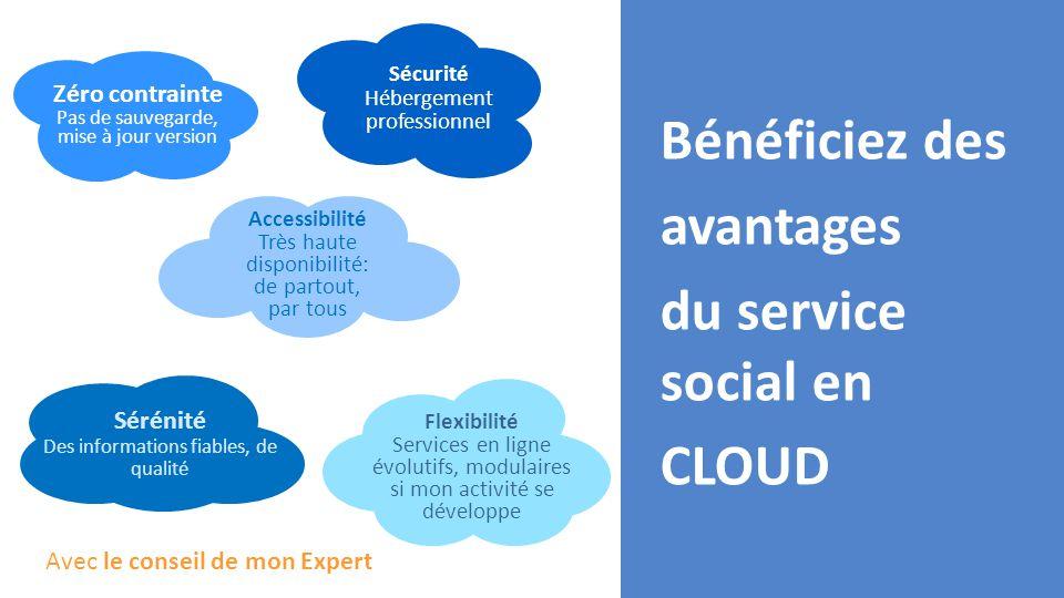 Bénéficiez des avantages du service social en CLOUD
