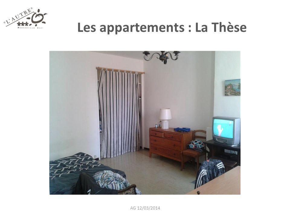 Les appartements : La Thèse