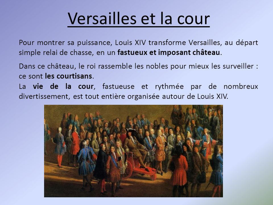louis xiv une monarchie absolue ppt