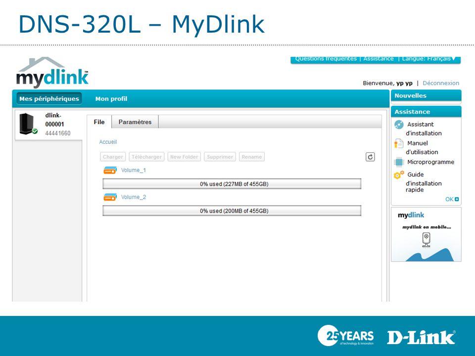 DNS-320L – MyDlink