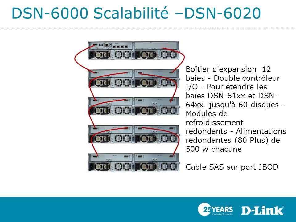 DSN-6000 Scalabilité –DSN-6020
