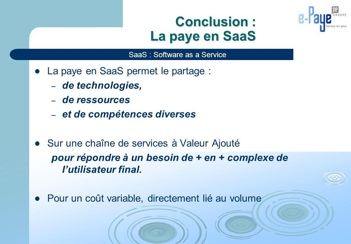 Conclusion : La paye en SaaS