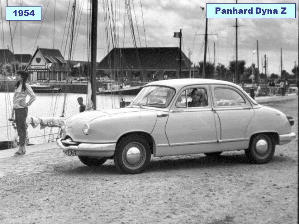 Panhard Dyna Z 1954
