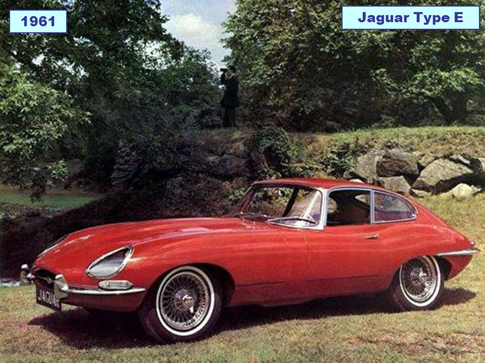Jaguar Type E 1961