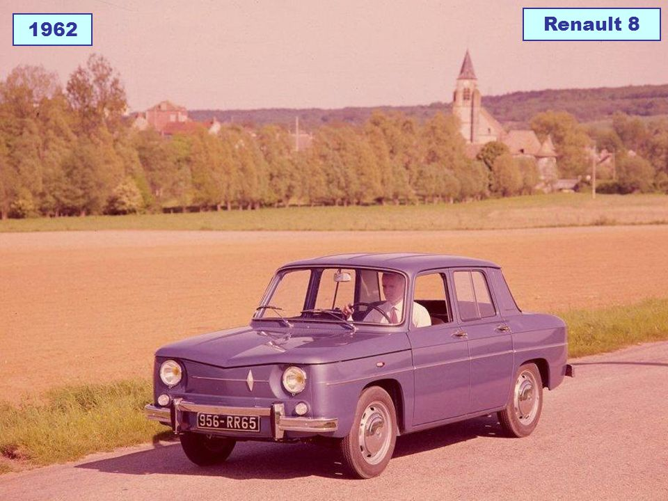 Renault 8 1962
