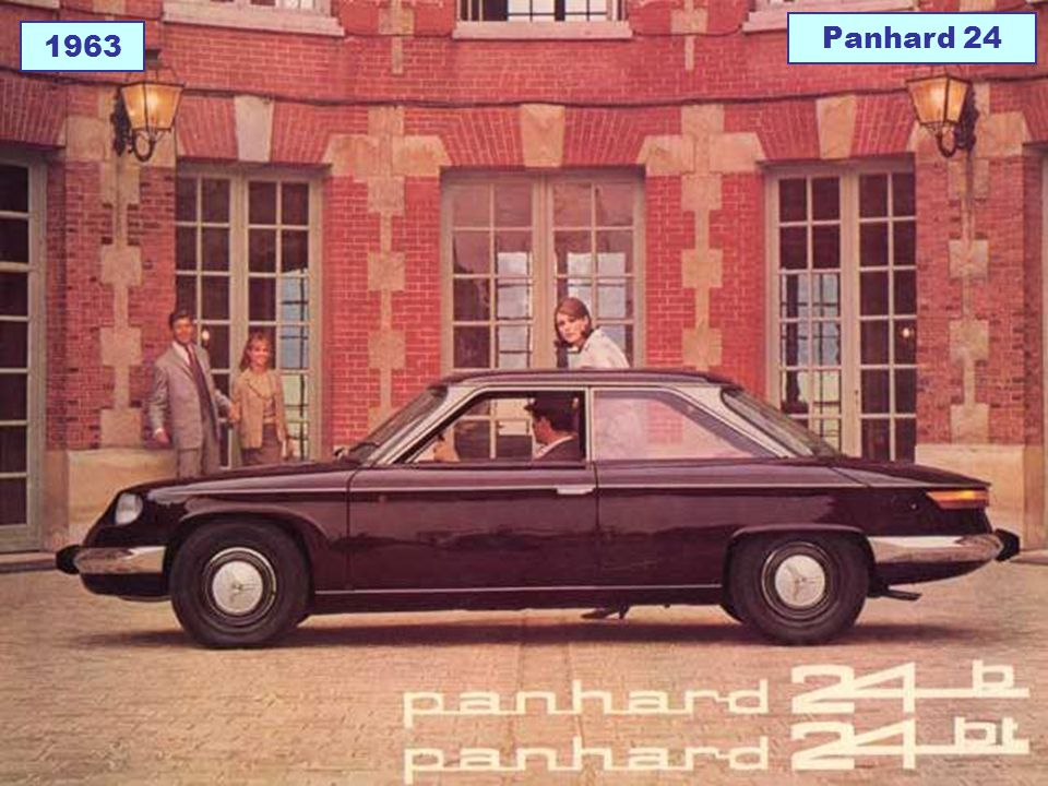 Panhard 24 1963