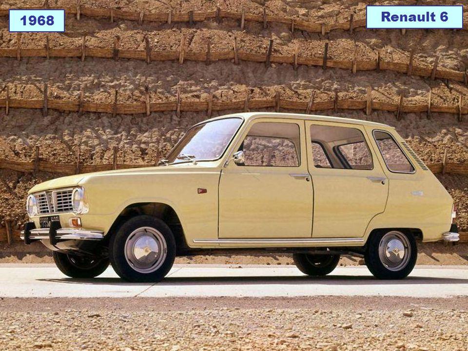 Renault 6 1968