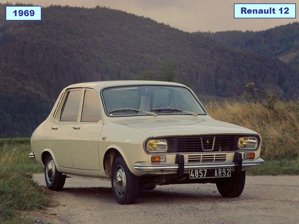 Renault 12 1969