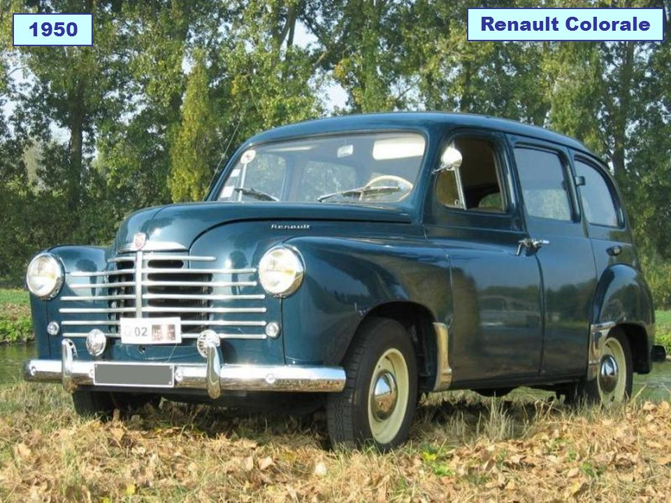 Renault Colorale 1950