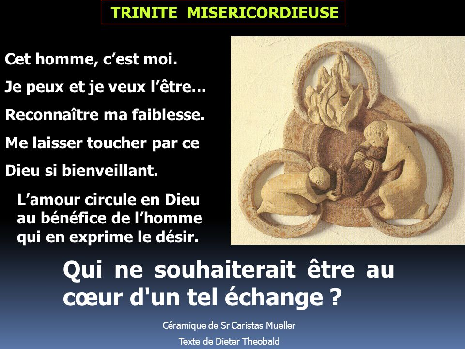 TRINITE MISERICORDIEUSE