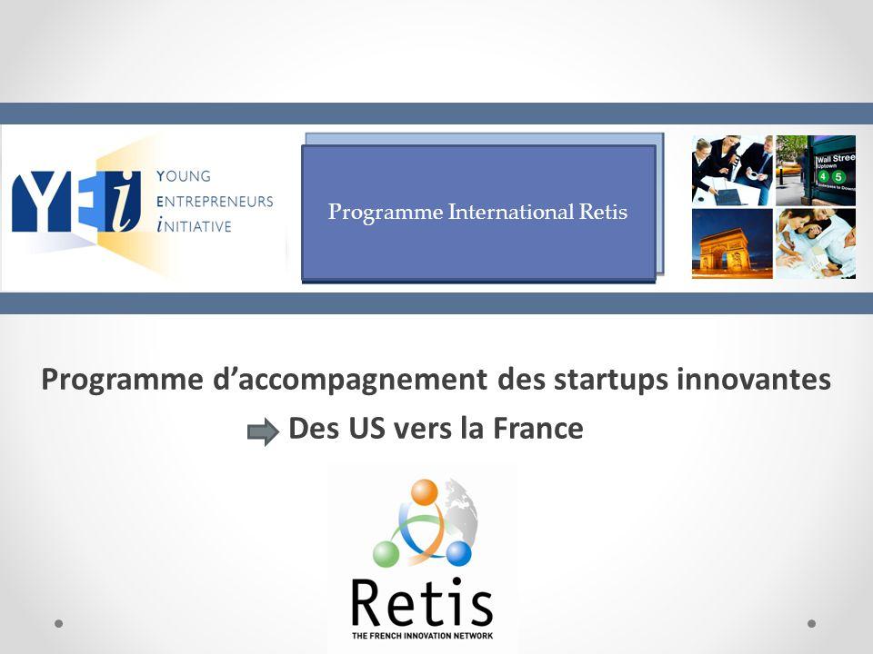 Programme d'accompagnement des startups innovantes