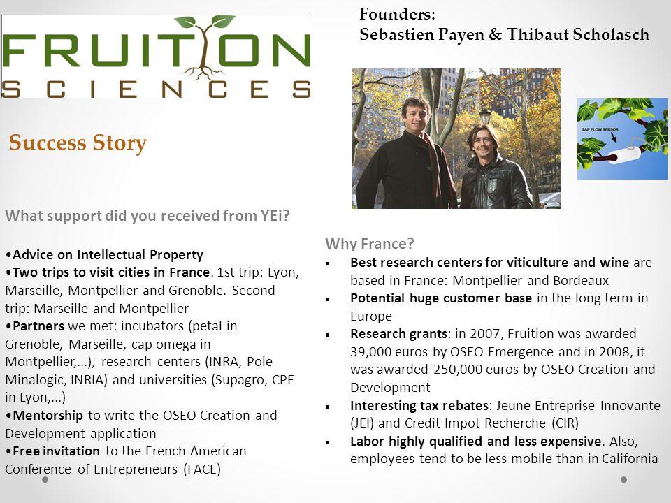 Success Story Founders: Sebastien Payen & Thibaut Scholasch