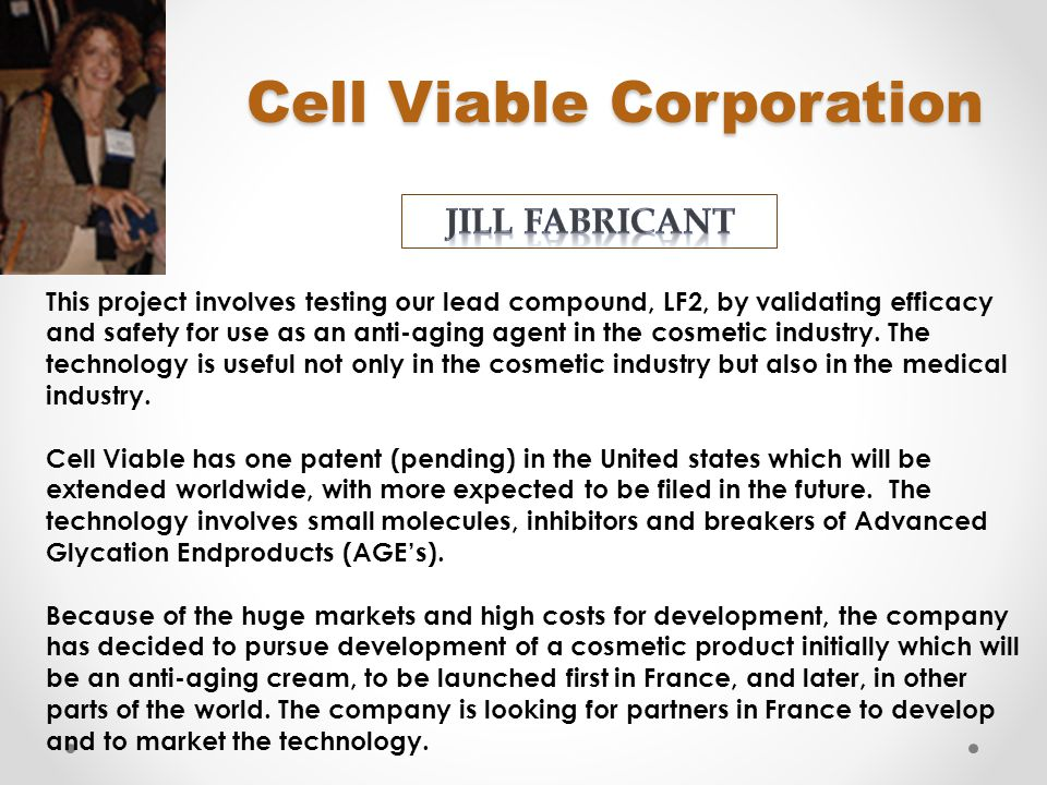 Cell Viable Corporation