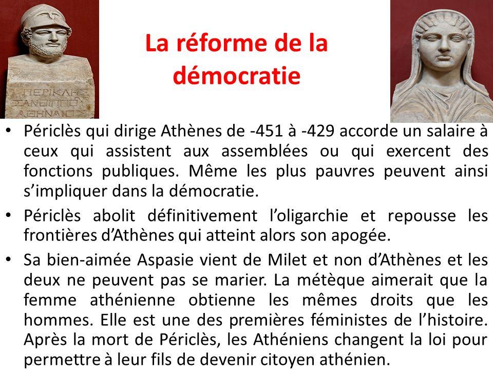 La réforme de la démocratie