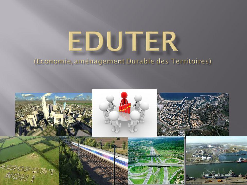 EDUTER (Economie, aménagement Durable des Territoires)