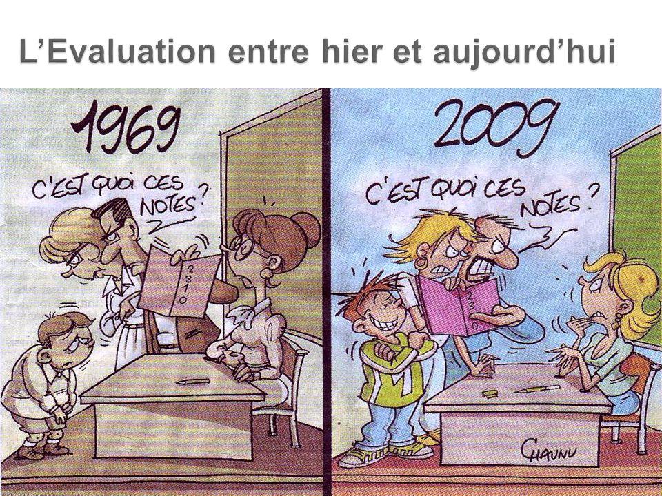 L'Evaluation entre hier et aujourd'hui