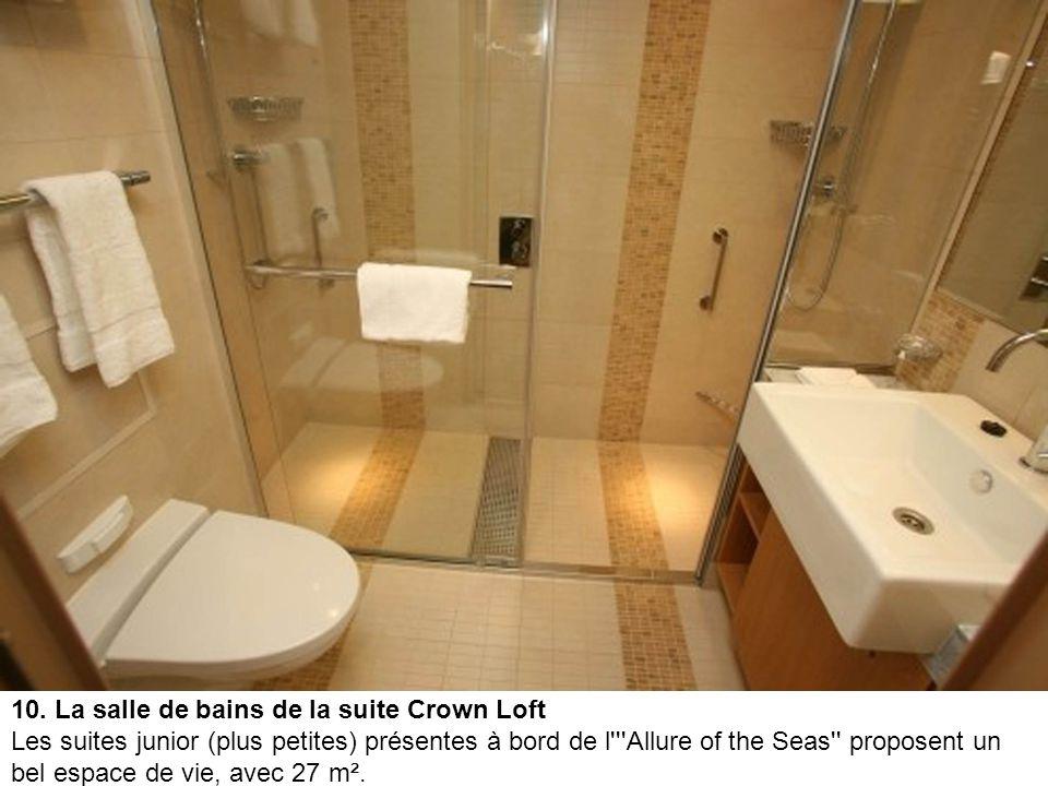 10. La salle de bains de la suite Crown Loft
