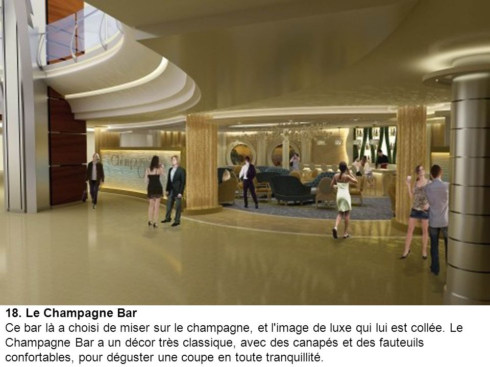 18. Le Champagne Bar