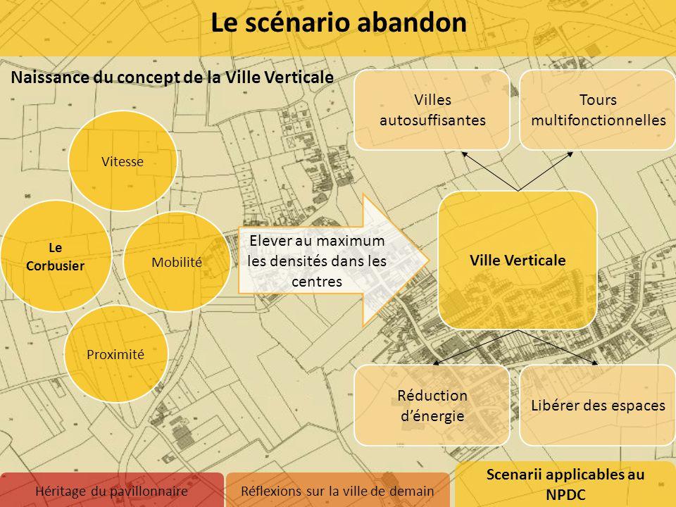 Le scénario abandon Naissance du concept de la Ville Verticale