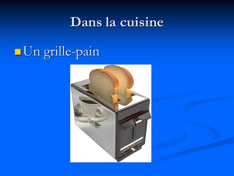 Dans la cuisine Un grille-pain