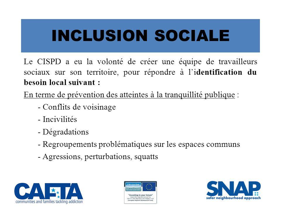 INCLUSION SOCIALE