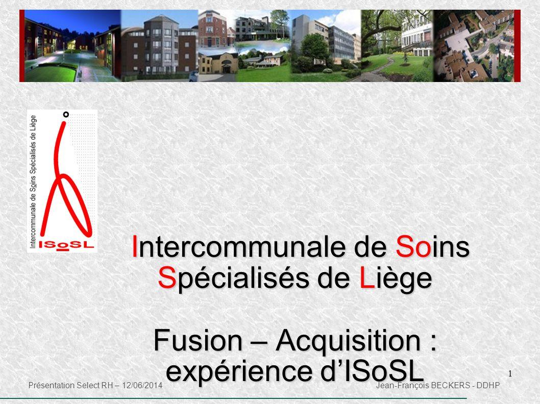 Fusion – Acquisition : expérience d'ISoSL