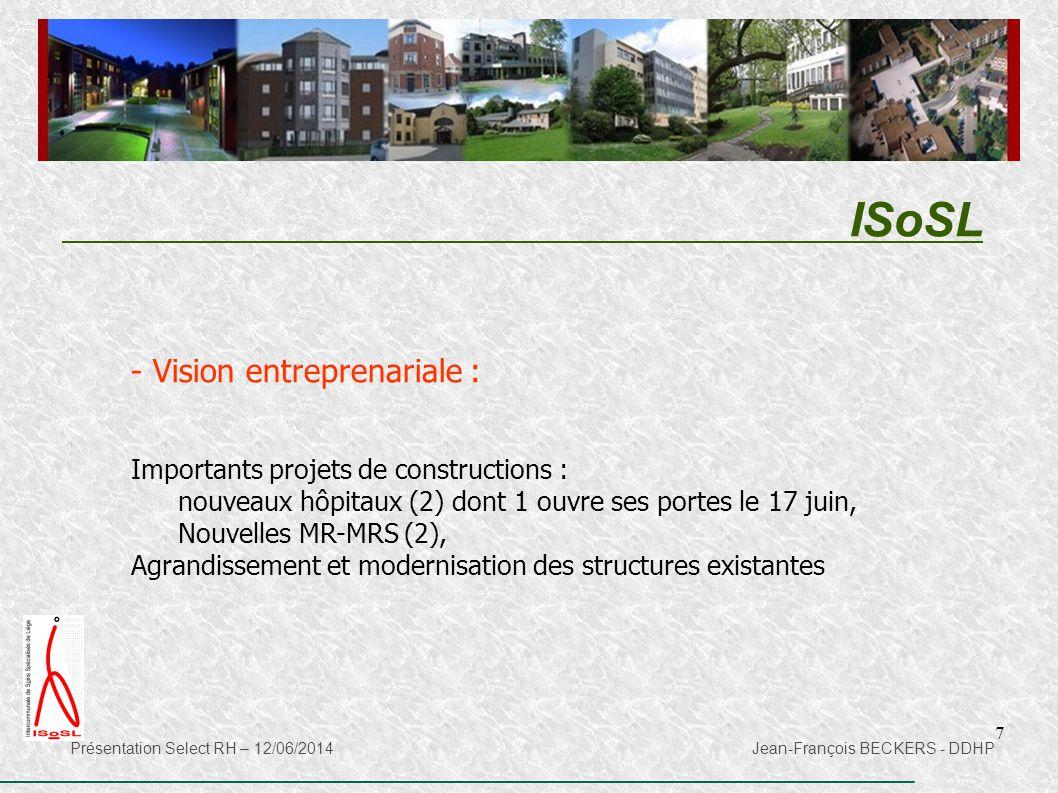 ISoSL Vision entreprenariale : Importants projets de constructions :