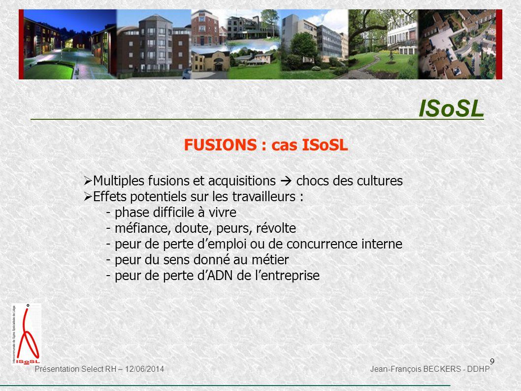 ISoSL FUSIONS : cas ISoSL