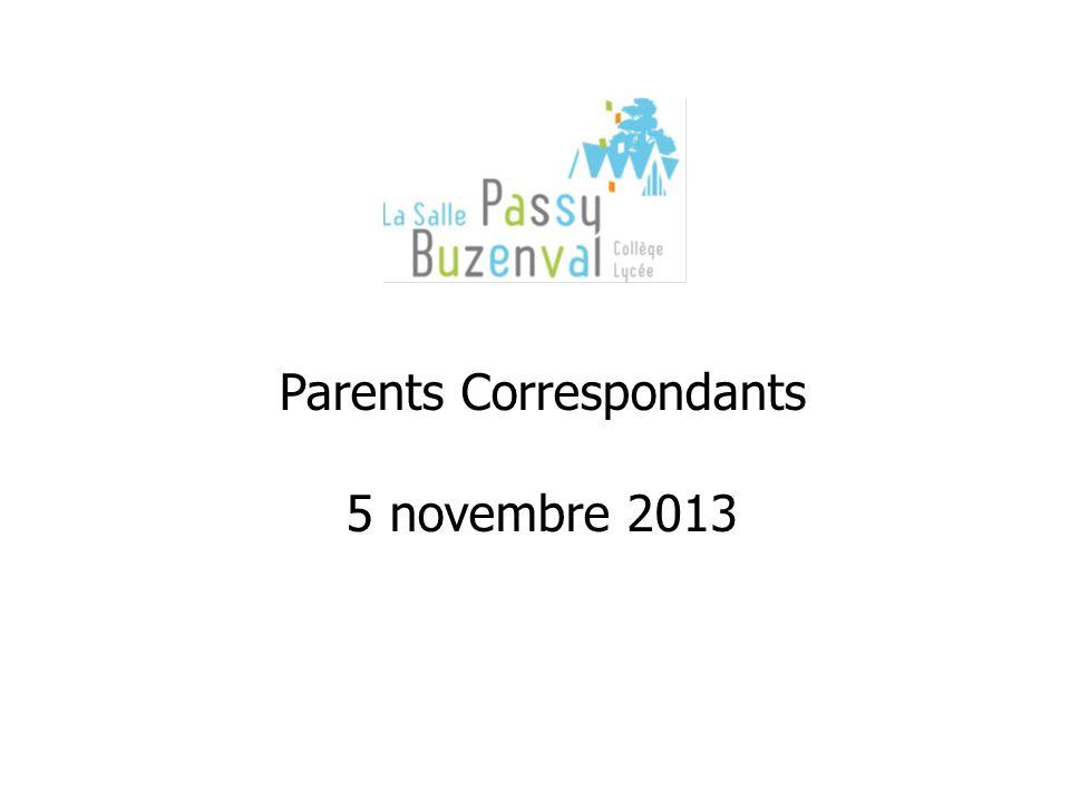 Parents Correspondants