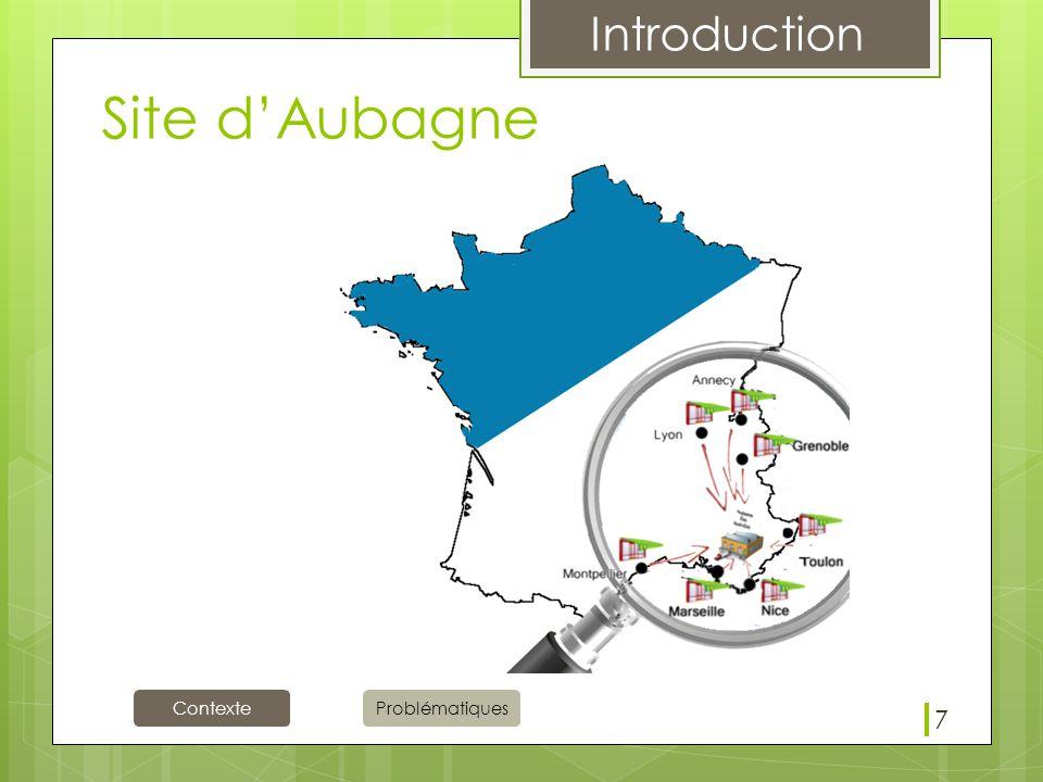 Site d'Aubagne 7 Nous allons nous intéresser au Site d'Aubagne