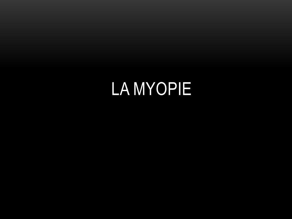 La myopie