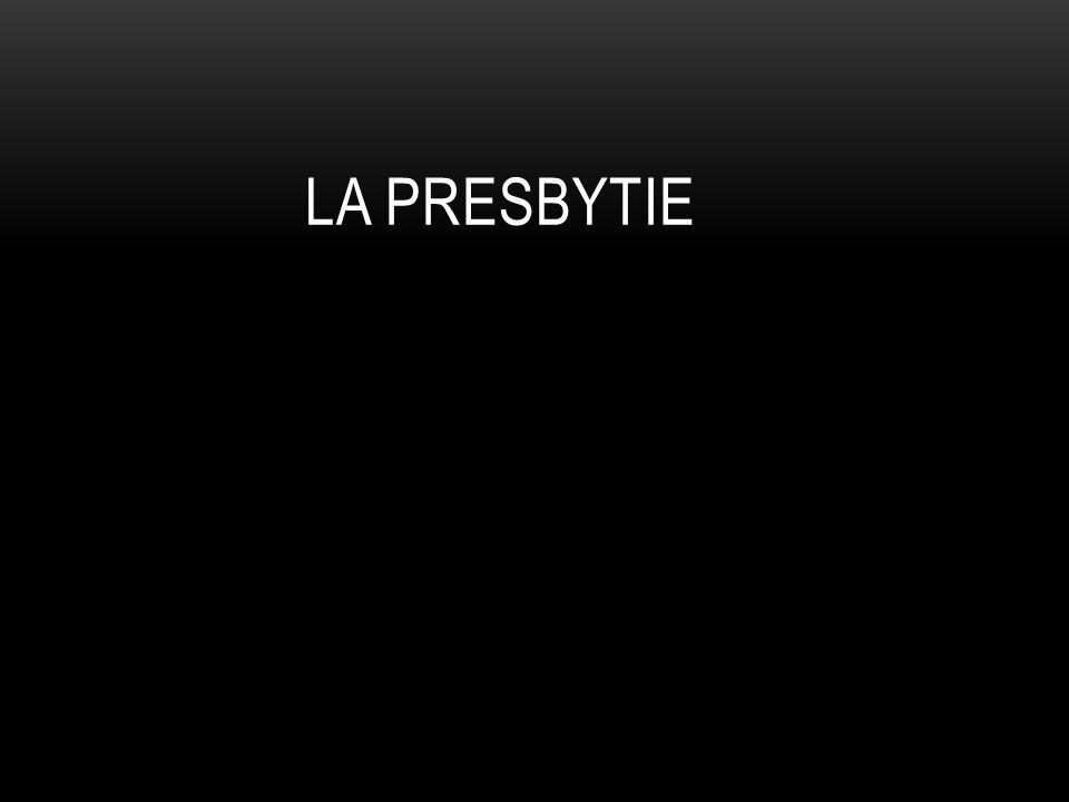 La presbytie