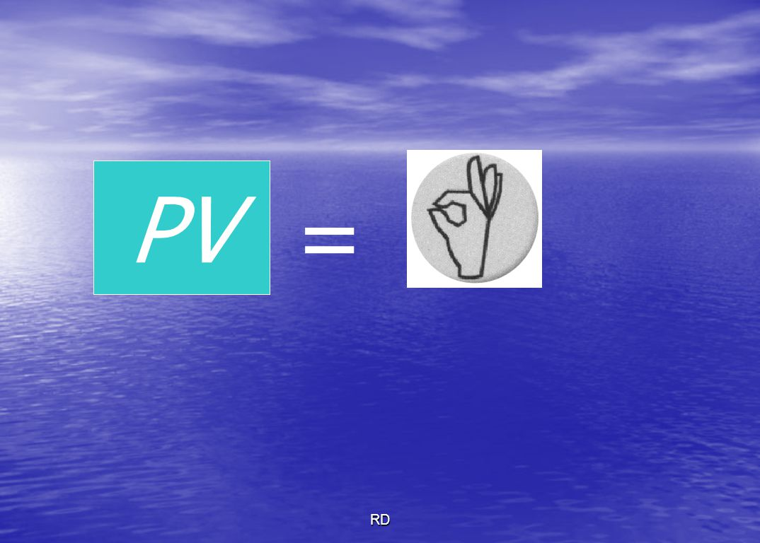 PV = RD