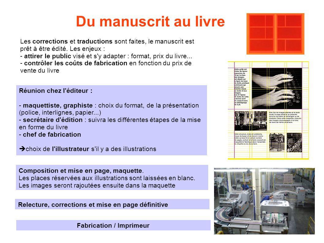 Fabrication / Imprimeur