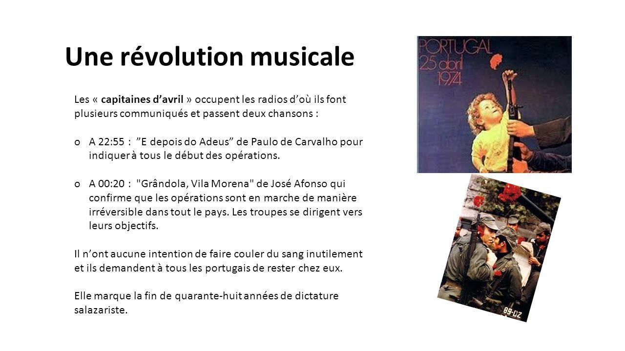 Une révolution musicale