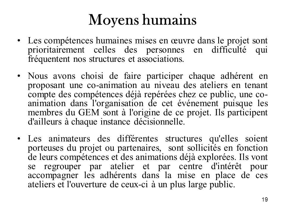 Moyens humains