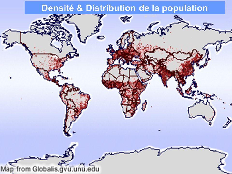Densité & Distribution de la population