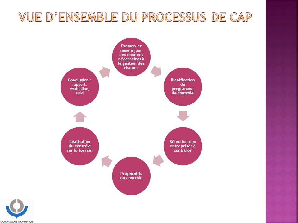 Vue d'ensemble du processus de CAP
