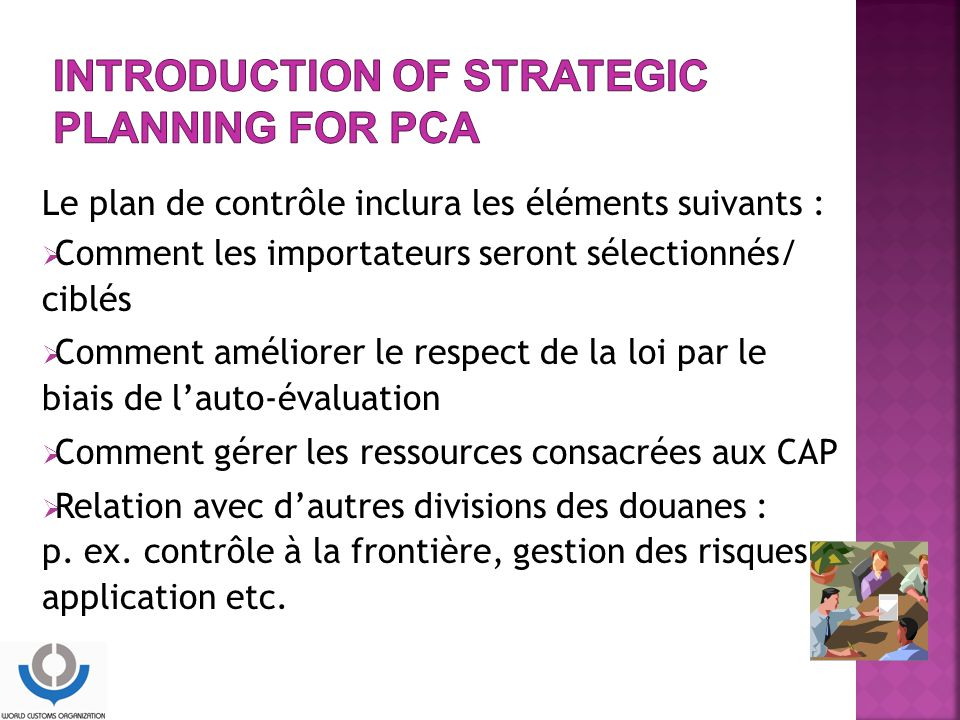 Introduction of Strategic Planning for PCA