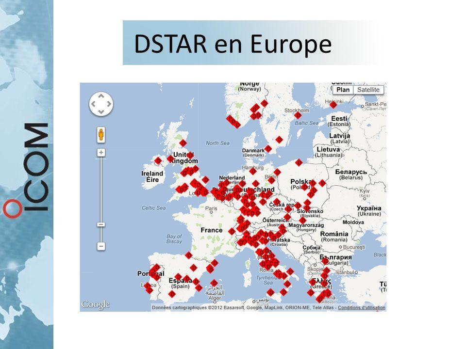 DSTAR en Europe